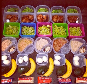 MEAL PREP IS KEY!